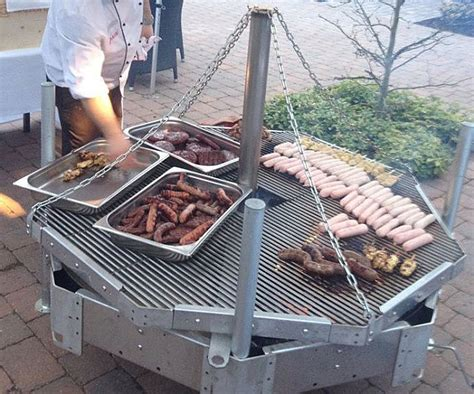 swing bbq grills weekly gimme cooler table swing braai iron man mouse