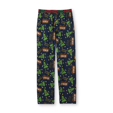 joe boxer men s christmas pajama pants christmas tree