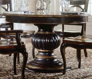 Pedestal Dining Room Table by Furniture Round Pedestal Dining Table With Leaf Round