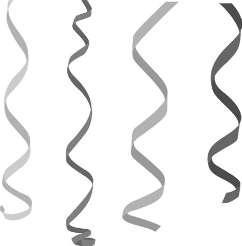 silver confetti vector eps10 overlay transparent stock streamers free stock photo illustration of hanging