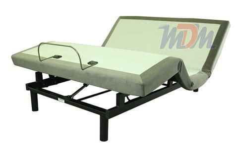 affordable king  piece adjustable powered bed base