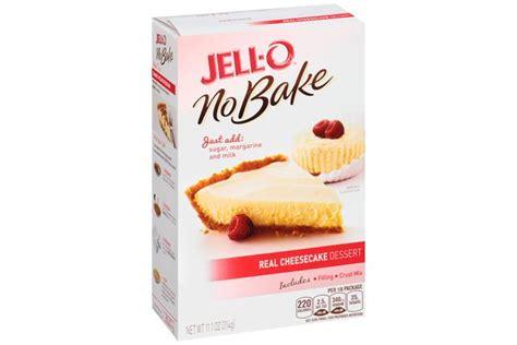Jello No Bake Oreo Dessert 12 6 Oz jell o no bake real cheesecake dessert mix kraft recipes