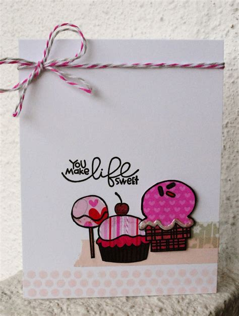 Sweet Handmade Cards - paper smooches sts stephinka