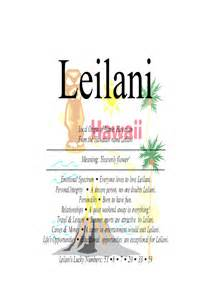 hawaii flower tattoos leilani female name means quot heavenly flowers quot in hawaiian