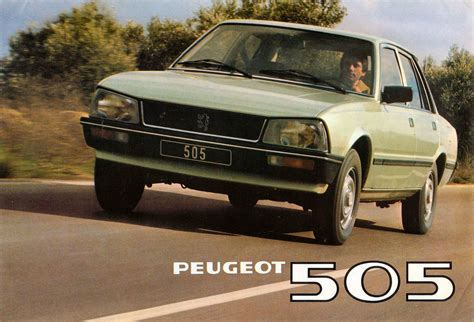 1980 Peugeot 505 Sti Related Infomation Specifications
