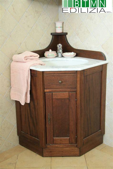 bagno angolare mobile da bagno angolare arte povera