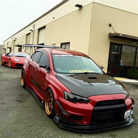 slammed jdm cars mitsubishi evo stance modified slammed the