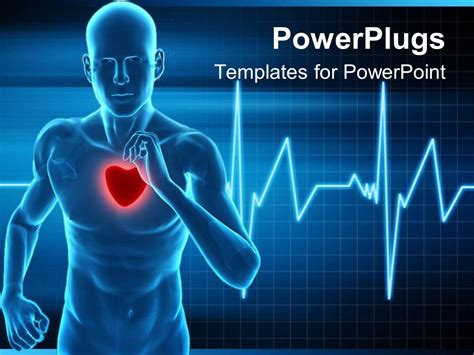free fitness powerpoint templates powerpoint template rate monitor live a healthy