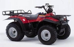 Suzuki Quadrunner Lt 4wd Suzuki Kingquad 280 Quadrunner Lt 4wd Lt F4wdx 250 Manual