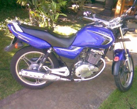 Footstep Suzuki Thunder Asli info harga motor jakarta motor dijual motor suzuki thunder 125 tahun 2005 bulan n