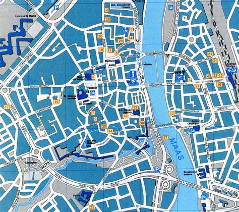 netherlands map maastricht maastricht map detailed city and metro maps of