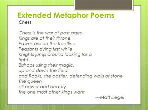 exle of extended metaphor medioevi moderni