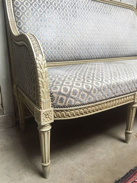 painted sofa french louis xvi style painted sofa for sale at 1stdibs
