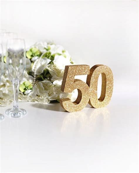 50th birthday table decorations 27 unique 50th birthday ideas for and my