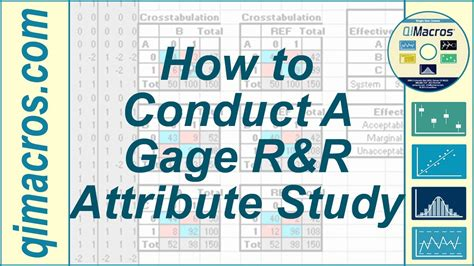 attribute gage r r excel template conduct a gage r r attribute study in excel