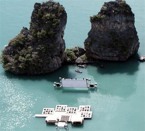 film thailand at mind blowing floating movie theater in yao noi thailand