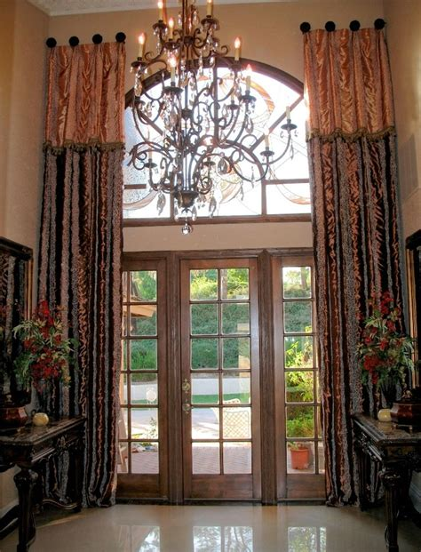 decorative curtain 25 best images about tall window curtains on pinterest