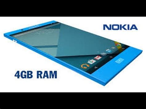 Nokia Android Ram 4gb nokia smartphone 2016 nokia to comeback in 2016 with 4gb ram and 3000mah battery