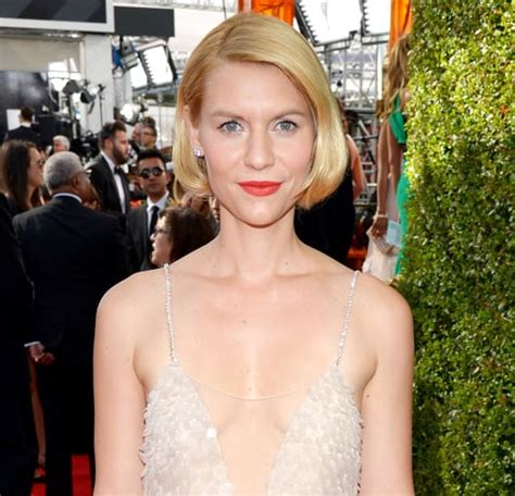 claire danes zoon claire danes emmys look homeland nominee models faux bob