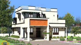 flat roof home designs 1900 sq ft modern flat roof house kerala home design and
