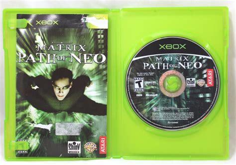 xbox neo the matrix path of neo xbox generation dartmouth kijiji