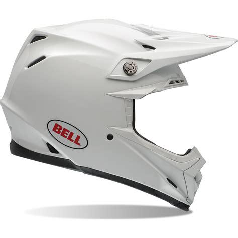 white motocross helmet bell moto 9 solid white motocross helmet cross enduro mx