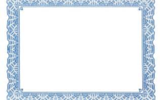Border Template For Word by Free Certificate Border Templates For Word Besttemplates123