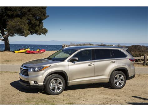 2016 toyota highlander prices reviews and pictures u s