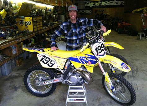 Travis Pastrana Suzuki 2002 Suzuki Rm250 Travis Pastrana Signed Bike Md