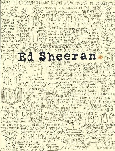 ed sheeran love songs ed sheeran song quotes musical influences pinterest