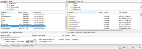 membuat website dengan file zilla cara upload file website menggunakan ftp duniailkom