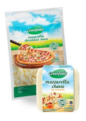 Keju Mozarella Kemasan 1 Kg jual greenfields mozarella cheese 1 kg x 6 ea er