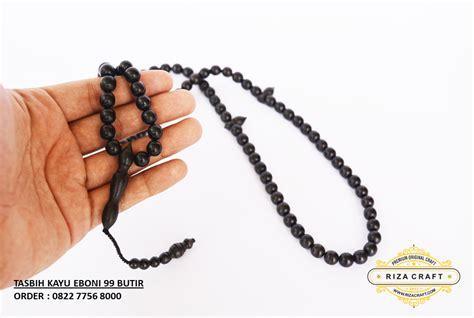 Gelang Tasbih Warna Hitam jual gelang tasbih kayu eboni hitam makassar sulawesi