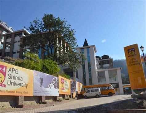 Apg Shimla Mba Fees by Apg Shimla In Bachelor Degree Master