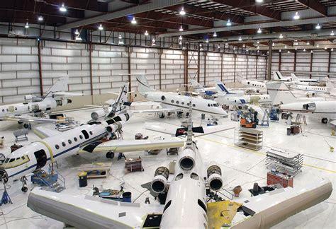aircraft maintenance hangar mro profile west aviation east alton business
