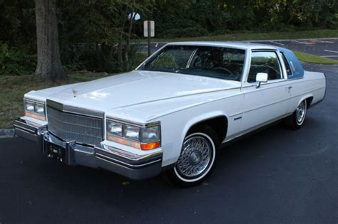 1983 Cadillac Fleetwood Brougham 1983 Cadillac Fleetwood Brougham Coupe 59k White