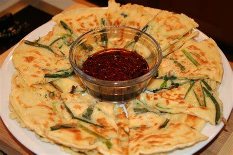 korean scallion pancake recipe dishmaps