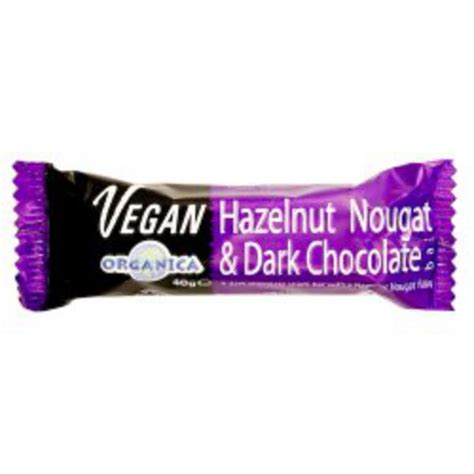 Organica Chocolate Includes Vegan Bars by Fairtrade Organic Hazelnut And Nougat Chocolate In