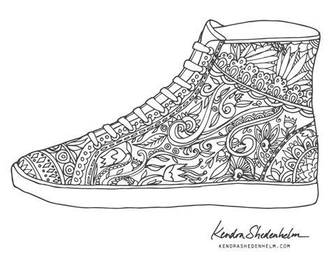 coloring pages of vans shoes shoes vans high tops pages coloring pages