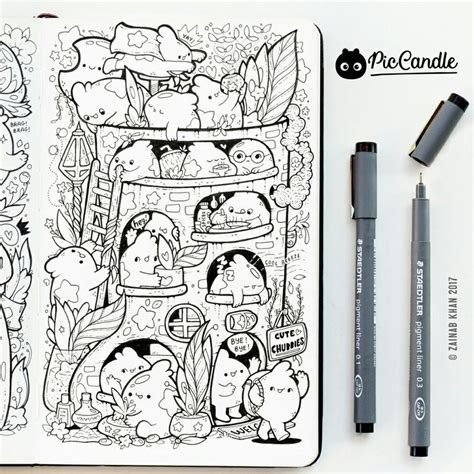 doodle piccandle 17 best images about pic candle doodles on
