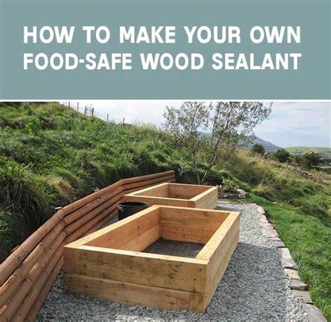 how to make your own food how to make your own food safe wood sealant mental scoop