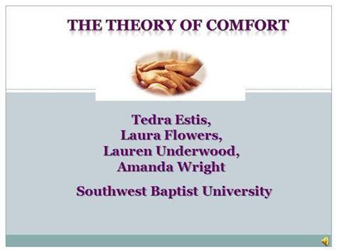 comfort theory of nursing theoryofcomfort authorstream