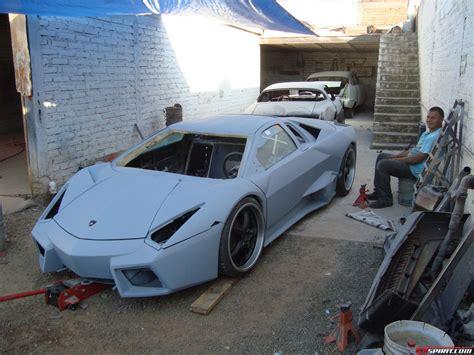 Sho Metal Di Pekanbaru by Lamborghini Reventon F40 Dan 458 Replika Dari Meksiko