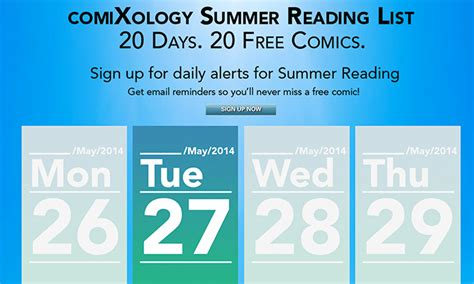 Amazon Daily App Giveaway - amazon s comixology announces daily comic giveaway promotion