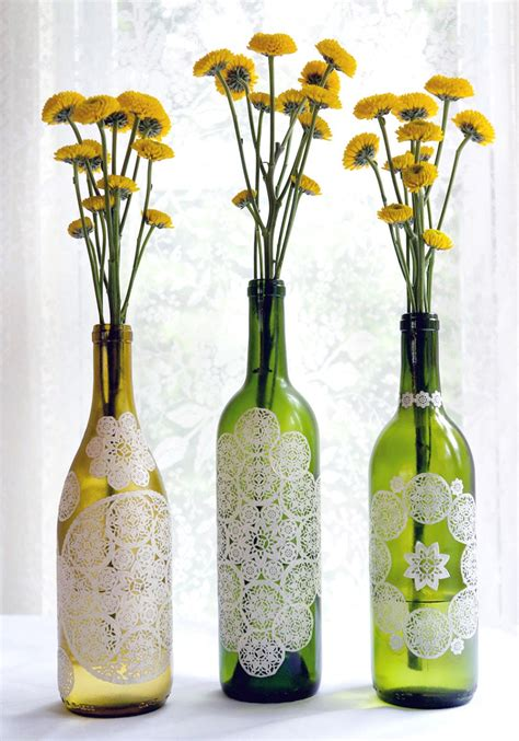 recycled crafts flower vase with crafts using