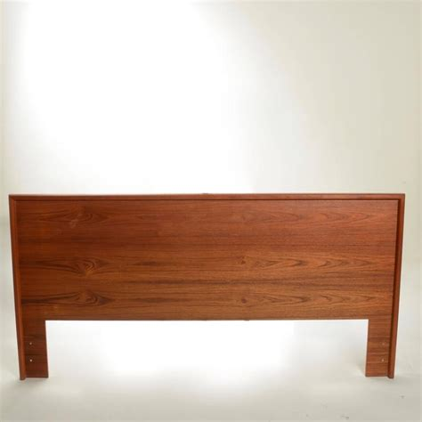 modern king headboard scandinavian modern california king headboard in teak for