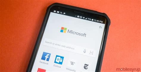 android edge microsoft edge for android beta is now available through play techie buzz