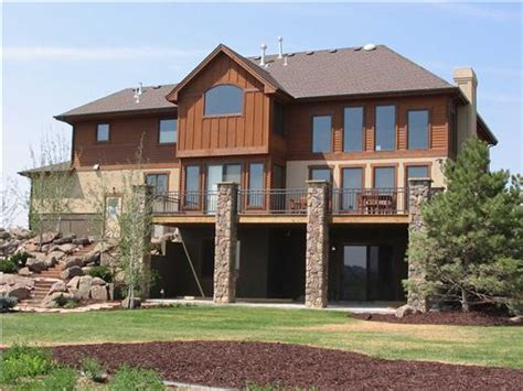 colorado style home plans get in tune with nature in a mountain style home