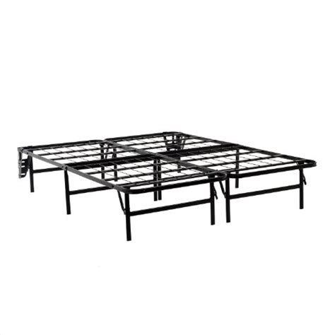 Structures Foldable Bed Base Platform Bed Frame And Box Bed Frame No Box Required
