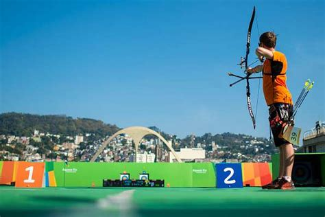 2016 summer olympics archery rio olympics 2016 archery rules format and point system